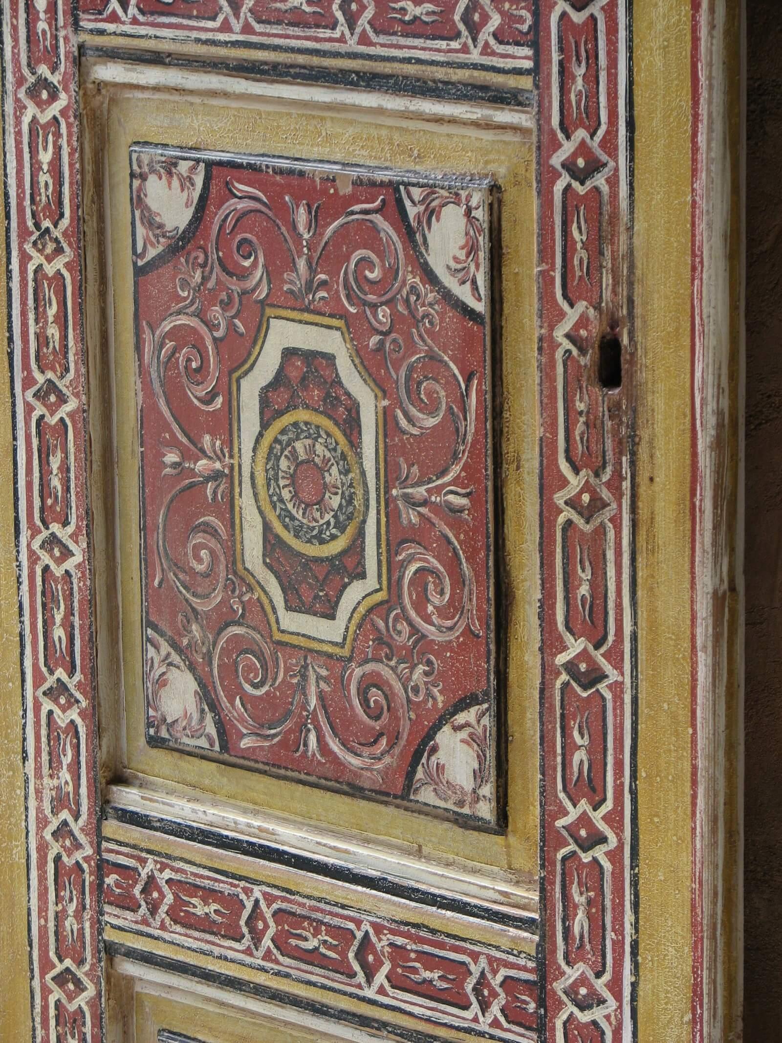 Malované dveře 180cm x 60cm 4